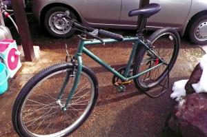 黒板自転車